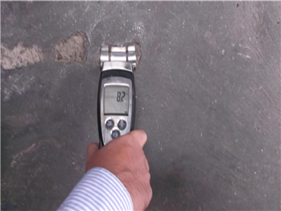 kiểm tra độ ẩm sàn bê tông